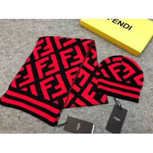 Fendi Scarf and Beanie ASS050201 Upadated in 2020.10.19