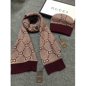 Gucci Scarf and Beanie ASS050203 Upadated in 2020.10.19
