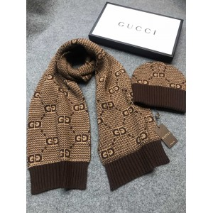 Gucci Scarf and Beanie ASS050204 Upadated in 2020.10.19