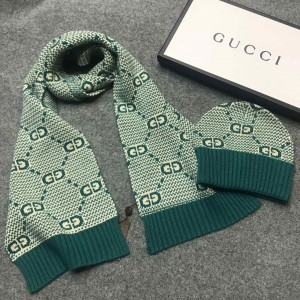 Gucci Scarf and Beanie ASS050205 Upadated in 2020.10.19