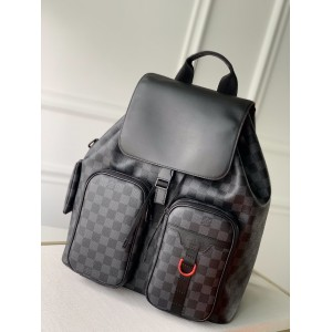 Louis Vuitton N40279 UTILITY Damier Graphite Backpack LV04010004 Updated in 2020.08.27