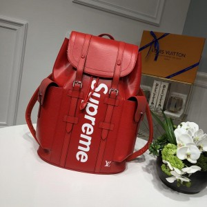 Louis Vuitton 53414 Supreme BAG RED LV04BM082