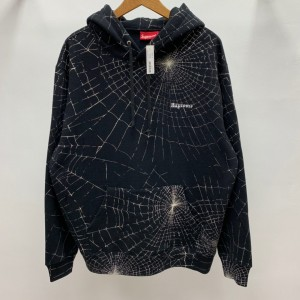 Supreme 16AW Spider Web Hooded Hoodie MC280005 Updated in 2019.10.18
