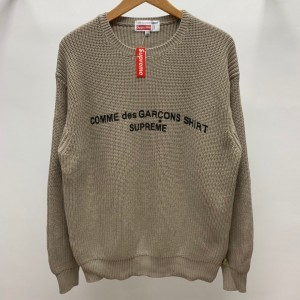 Supreme x Comme des Garons Shirt Sweater MC280101 Updated in 2019.10.18