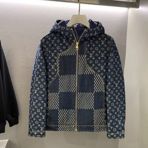 Louis Vuitton Giant Damier Down Jacket MC330178 Updated in 2020.12.19