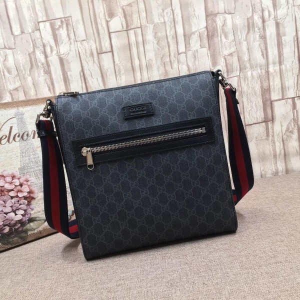 Replica Gucci graphite sling bag GC06BM033