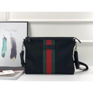 Gucci black canvas handbag GC06BM042