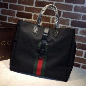 Gucci black canvas handbag GC06BM086