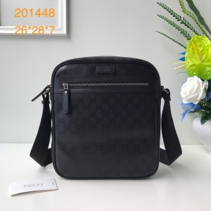 Gucci black messenger bag GC06BM108