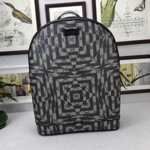 Gucci 4-point star geometry pattern back pack GC06BM128