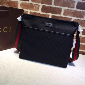 Gucci black canvas handbag  GC06BM141