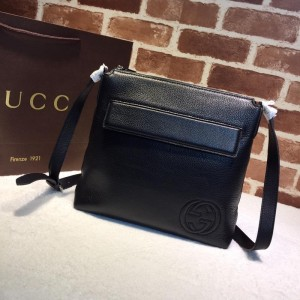 Gucci black leather handbag GC06BM149