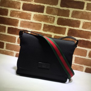Gucci black canvas shoulder bag GC06BM150