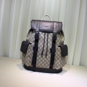 Gucci brown back pack with black flaps GC06BM158