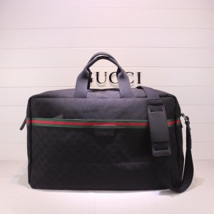 Gucci black canvas office bag  GC06BM161