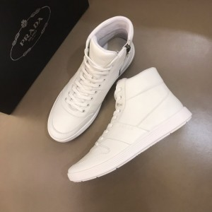 Prada Sneakers High-top White and white soles MS021120 Updated in 2019.10.21