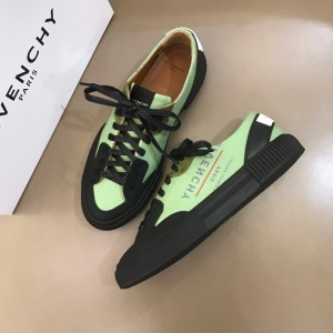Givenchy sneakers Green and Fuchsia print with black heel MS021142 Updated in 2019.11.28