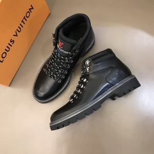 LV black leather Boots MS021218 Updated in 2019.11.28