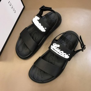 Gucci Black Sandals With LV Signative MS02661 Updated in 2019.04.19
