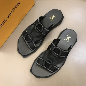 Louis Vuitton black Sandal MS02806 Updated in 2019.04.19