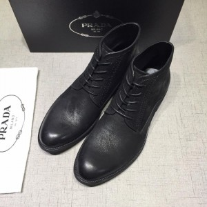 Prada Black Martens Boots MS071184 Updated in 2019.04.27