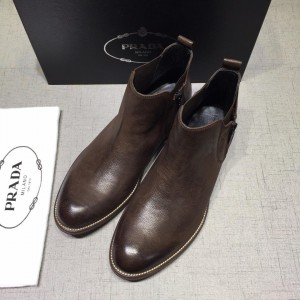Prada Brown Chelsea Boots MS071185 Updated in 2019.04.27