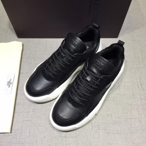 Valentino Sneakers Black and black heel with white sole MS071452 Updated in 2019.04.27