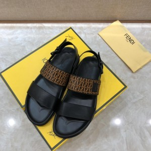 Fendi black Sandals with FF Monogram MS07235 Updated in 2019.04.27
