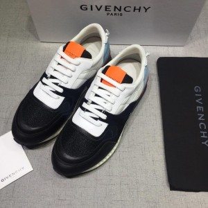 Givenchy sneakers Black and blue heel with Orange tongue MS07430 Updated in 2019.04.27