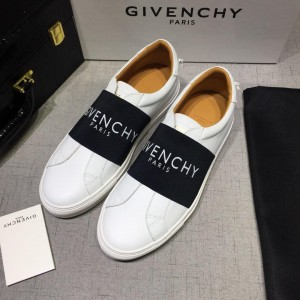 Givenchy Sneakers White and Covering wide black elastic band with white heel MS07450 Updated in 2019.04.27