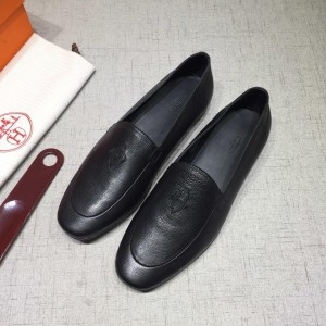 Hermes Black leather Loafers MS07804 Updated in 2019.04.27