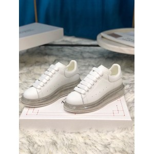 Alexander McQueen Sneaker White and transparent sole MS100023 Updated in 2019.09.17