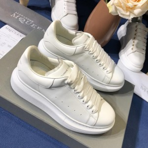 Alexander McQueen Sneaker White and white heel MS100078 Updated in 2019.09.17