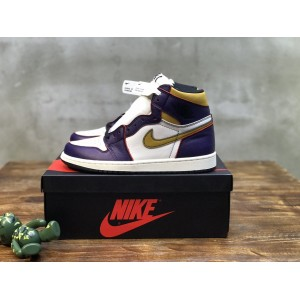 Air Jordan 1 High Lakers MS120359 Sneaker Updated in 2020.12.21