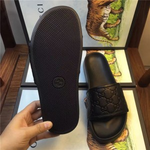 Gucci Black Ghost slide sandal OF_0CB0C6FA7719