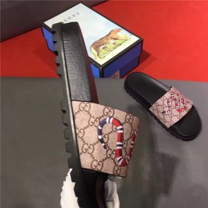 Gucci snake print sandals OF_528F5041D690