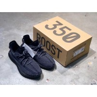 Adidas Yeezy Boost 350 V2 Black Static Shoes MS09219 Updated in 2019.06.10