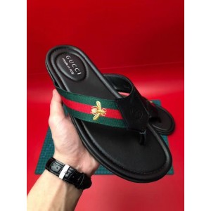 Gucci flip flop with bee MS09301 Updated in 2019.07.16