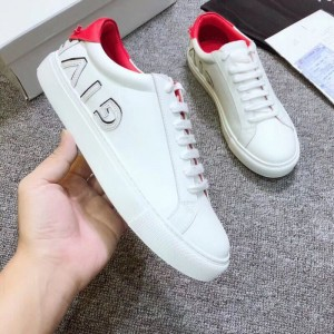Givenchy White Sneakers With Red Heel MS09305 Updated in 2019.08.07